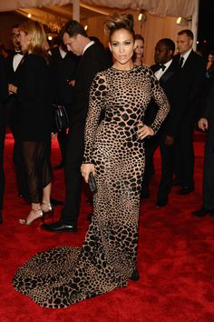 Jennifer Lopez attend the Costume Institute Gala for the