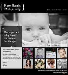 Weebly Photography Website Design - Modern Website Template - The ...