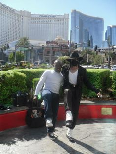 Me dancing with MJ :)