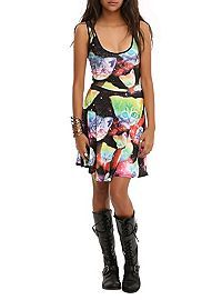 HOTTOPIC.COM - Cat Galaxy Dress