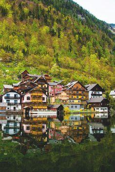 Hallstatt, Austria  (by AparnaS)