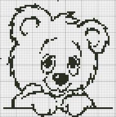 Petite Armoire: Petite Armoire Free X Pattern-Teddy bear
