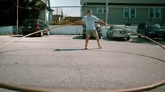 Ashrita Furman - Guinness record for largest hula hoop.