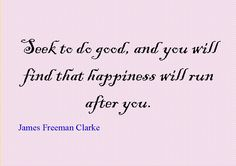 quotes of the day | Quote of the Day : James Freeman Clarke