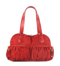 Red is my fave color. & MZ Wallace makes my fave bags!