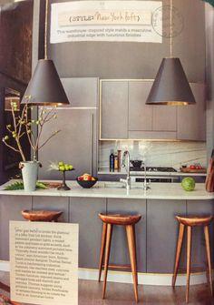New York Loft style kitchen...