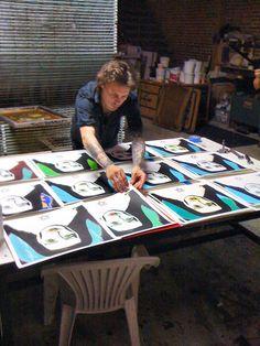 Ville Valo - Screamworks Album Design Selection