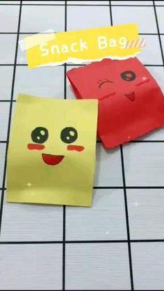Paper Folding Crafts, Cool Paper Crafts, Diy Crafts Hacks, Diy Crafts For Gifts, Diy Arts And Crafts, Paper Crafts Origami, Cute Crafts, Diy Paper, Fabric Crafts