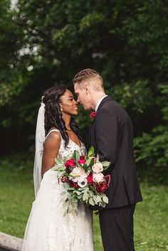 Zibi Wedding on Canada anniversary. Claire and Tim were married on Canada Day in downtown Ottawa's premier wedding venue Zibi. Red Wedding, Summer Wedding, Wedding Reception, Wedding Flowers, Wedding Venues, Wedding Ideas, Wedding Dresses, Green And Gold, Red Green