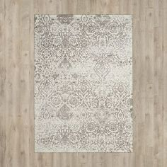 Charlton Home Portleven Ivory/Taupe Area Rug Rug Size: 5' x 7'