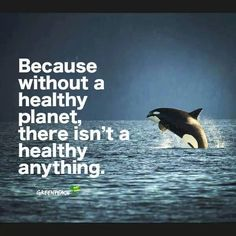 A Healthy planet.