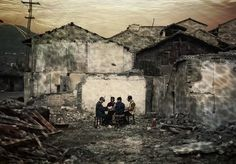 Yang Yi, Ring Road, unknown name dormitory, Uprooted, 2007 Yang Yi, Three Gorges Dam, Provinces Of China, Protest Art, Social Art, Political Art, Chinese Art, Contemporary Artists, Home Art