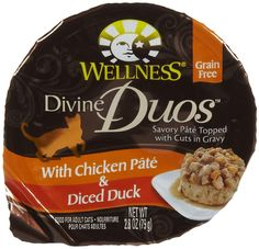 Wellness Divine Duos With Chicken Pate and Diced Duck - 24x2.8 oz ** See this awesome image  : Dog food brands