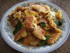 Recipe Fried Rice Cakes with Eggs (Banh Bot Chien) by ch3rri-blossoms
