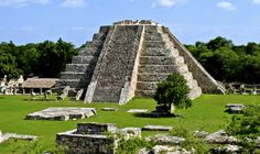 Mayapan - last big town of the ancient Maya in Yucatan