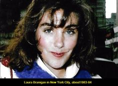 Laura in New York City, about 1983-84.
