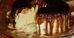 Gelado de creme com calda de chocolate | Chocolate