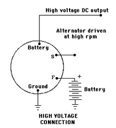 Be Cfc B A F A B C F High Voltage Electronics on 91 Chevy Alternator Wiring Diagram