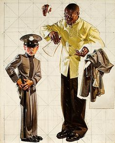 Studies byJoseph Christian Leyendecker(American,...