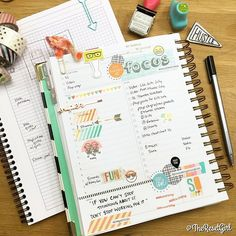Friday in my @thedaydesigner daily planner (NOT the Target version). In love with the color palette! The Summer Vibes collection from @simplestories_ (available in TheResetGirlShop.com) looks amazing with my Colorblocked stickers in Honey Girl. They are so fun to stamp with and turn into reminders which I did using the emoji stamps from @abeautifulmessofficial. The fun alpha stamp from @chickaniddy is to remind me to FOCUS today. Tap the pic for Sources #theresetgirlplans…