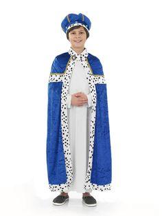 Boys Wise Men Christmas 3 Kings Nativity Play Kids Childrens Fancy Dress Costume