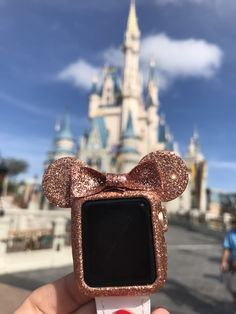 I Love Jewelry Rose Gold Mickey case - Disney Vacations, Disney Trips, Disney Parks, Cute Disney, Disney Style, Apple Watch Fashion, Apple Watch Accessories, Phone Accessories, Fashion Accessories