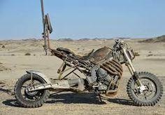 A Rock Riders' Yamaha Motorcycle