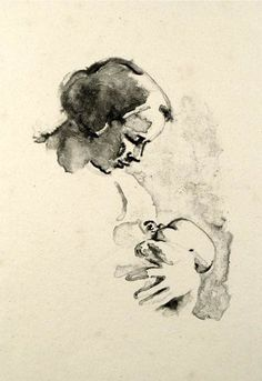 Mother and Child   by French artist, Maurice Asselin (1882-1947)