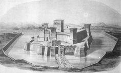 File:Guglielmo Meluzzi, Ricostruzione ideale di Castel Sismondo, 1880.JPG