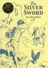 The Silver Sword.  I first read this in year 7 when we were studying it, and then I studied with my year 6 classes as a teacher.  It's a bautiful story about four children trying to find their parents in Nazi occupied Europe and their journey from Poland to Switzerland.  A feel-good WWII story
