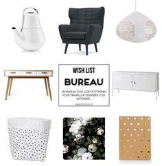 Shopping déco : Ma wish list pour un bureau chic et girly ! - www.decocrush.fr