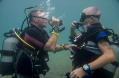 Scuba diving training in the south of Tenerife, Las Galletas, El Fraile, Los Cristianos, Las Americas