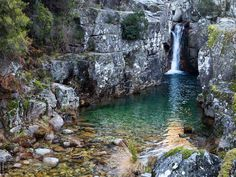 Portugal Travel, Forest River, Van Life, Travel Pictures, Travel Inspiration, Waterfall, Places To Visit, Landscape, World