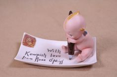 Kewpie Sends a Postcard!