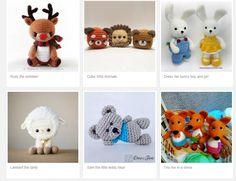 Ideias e Moldes para Artesanato : Onde Encontrar Receitas de Amigurumi Gratuitas Teddy Bear, Toys, Crochet, Animals, Sites, Zero, Amigurumi Patterns, Crochet Boys, Crochet Animal Amigurumi