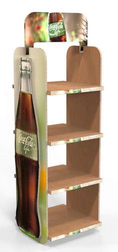 Coca Cola Life XBoard Display by Dustin Santana at Coroflot.com