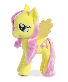Look at this #zulilyfind! My Little Pony 13'' Fluttershy Plush Toy by My Little Pony #zulilyfinds