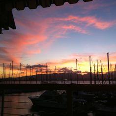 View from Schooners Restaurant @ Oahu HI Oahu Hi, Hawaii Vacation Rentals, Exotic, Restaurant, Clouds, Sunset, Places, Life, Outdoor