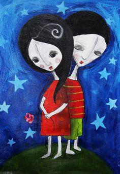 Daniela Lompa Nunes. A arte dela recheia os nossos ♥♥ de cores e emoções.