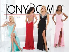 Tony Bowls Prom available at Albert Griffin Bridal, Lakeland, Florida (863) 940-9932 www.albertgriffin.com