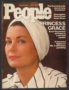 1975 People Magazine Cover ~ Grace Kelly/Princess Grace