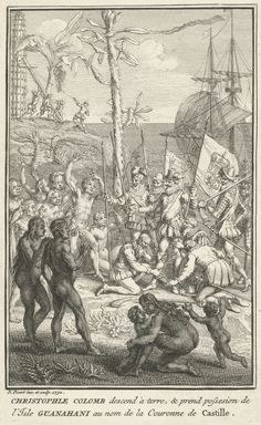 005 Battle Between Tuppin Tribes by Theodore De Bry Theodore