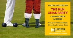 HLH Xmas Party - Lawn Bowls & Beers! at ... Royal Botanic Gardens Sydney, Singles Events, Speed Dating, Xmas Party, Lets Celebrate, Youre Invited, First Names, Bowling, Christmas Eve