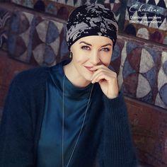 Le Duo Karma Bambou Atlas de Christine Headwear® est composé d un bandeau  amovible et d un turban lisse assorti ! Ce Bonnet-Bandeau Chimio fait  partie de la ... b4ca41593ed