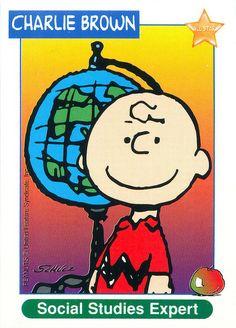 Peanuts MetLife All Star Cards - Charlie Brown