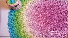 Free Crochet Pattern: Lotus Flower Blanket