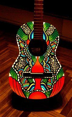 Guitarra tuneada