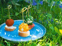 Připravte si jednoduše skvělé nivové koule na tři způsoby podle šéfkuchaře Jana Kaplana. Recept najdete na blogu Oh My Chef. I Chef, Table Decorations