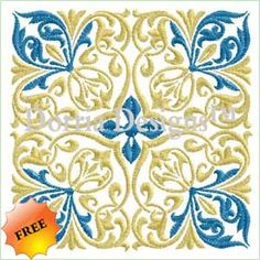 Freebie quilt block embroidery design and many many more!
