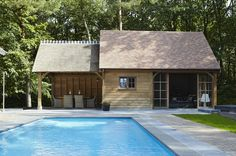 Cottage poolhouse | Bogarden
